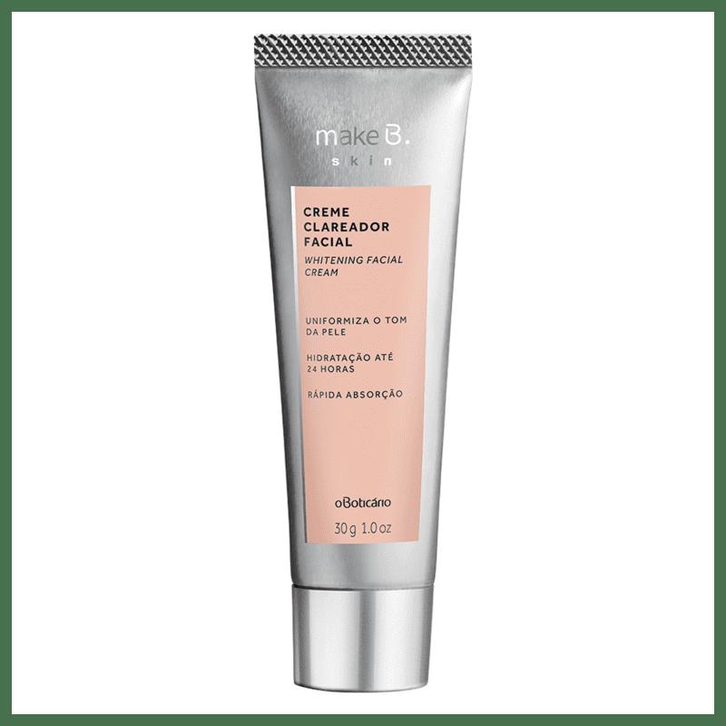 Creme Clareador Facial Make B. Skin 30g