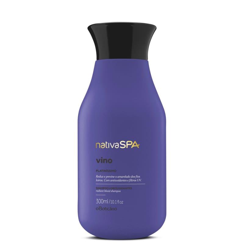 Shampoo para Cabelos Loiros Nativa SPA Vinoterapia, 200ml