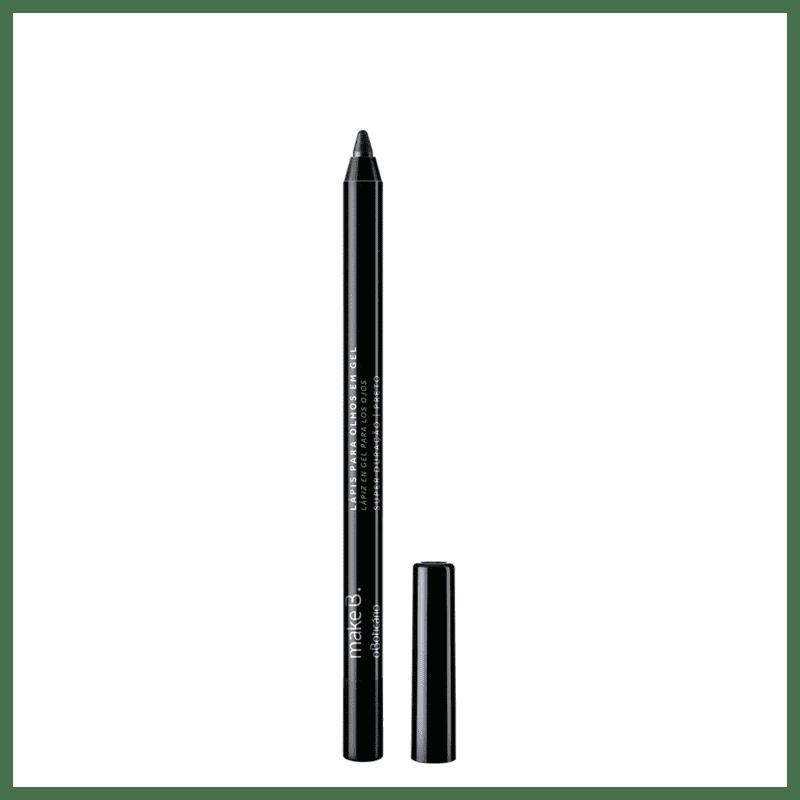 Lápis para Olhos Gel Ultrablack Make B.