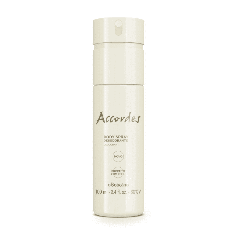 Desodorante Body Spray Accordes, 100 ml