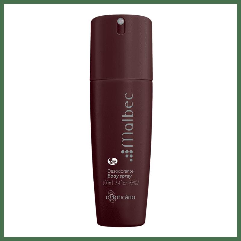 Desodorante Body Spray Malbec, 100ml