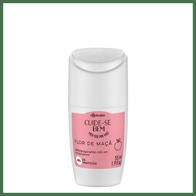 Desodorante Roll-On Cuide-se Bem Flor de Maçã, 55ml