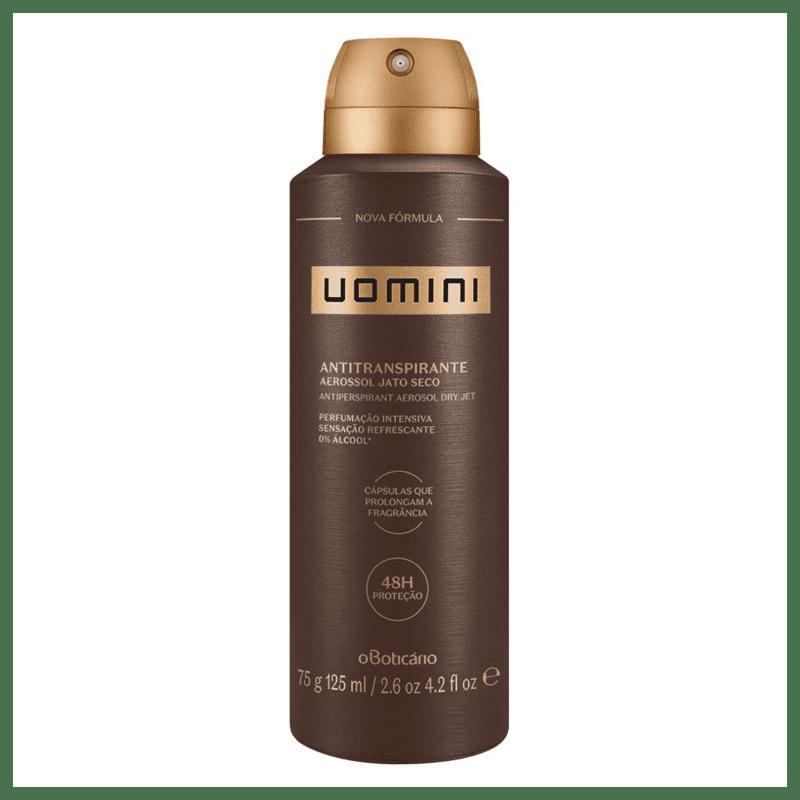 Desodorante Antitranspirante Aerosol Uomini, 75g/125ml