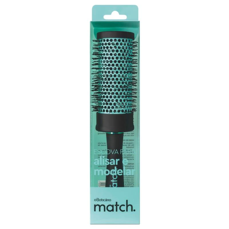 Escova para Modelar e Alisar Match