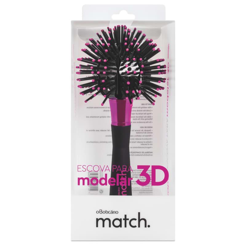 Escova para Modelar 3D Match