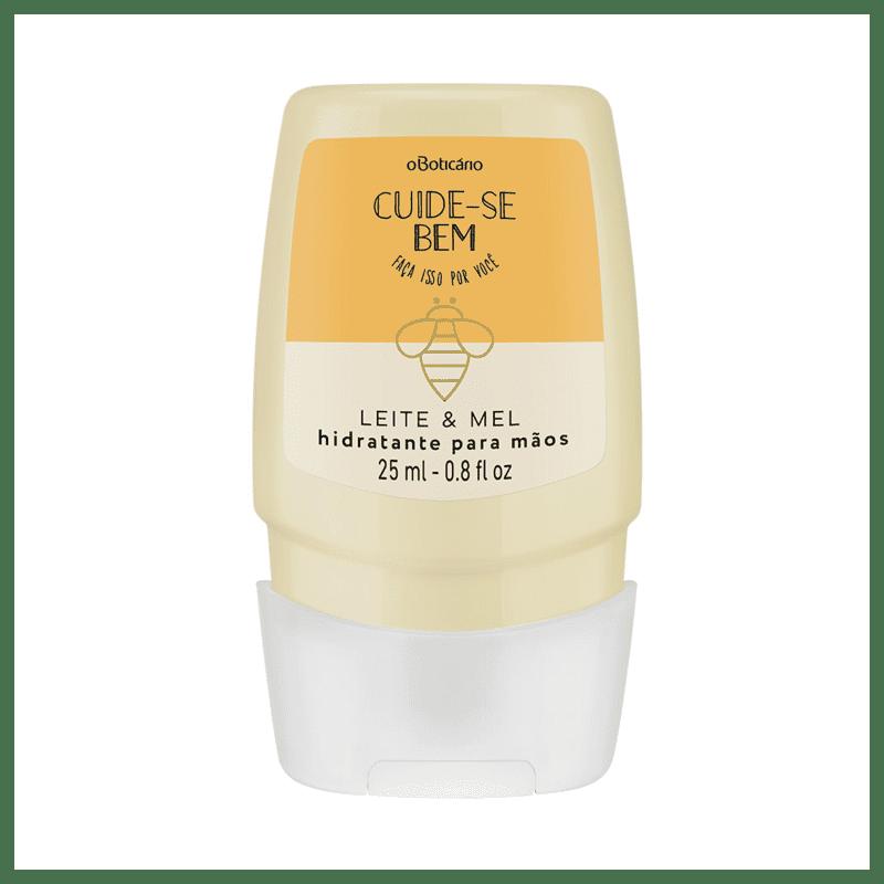 Creme Hidratante Desodorante para Mãos Cuide-se Bem Leite e Mel, 25ml