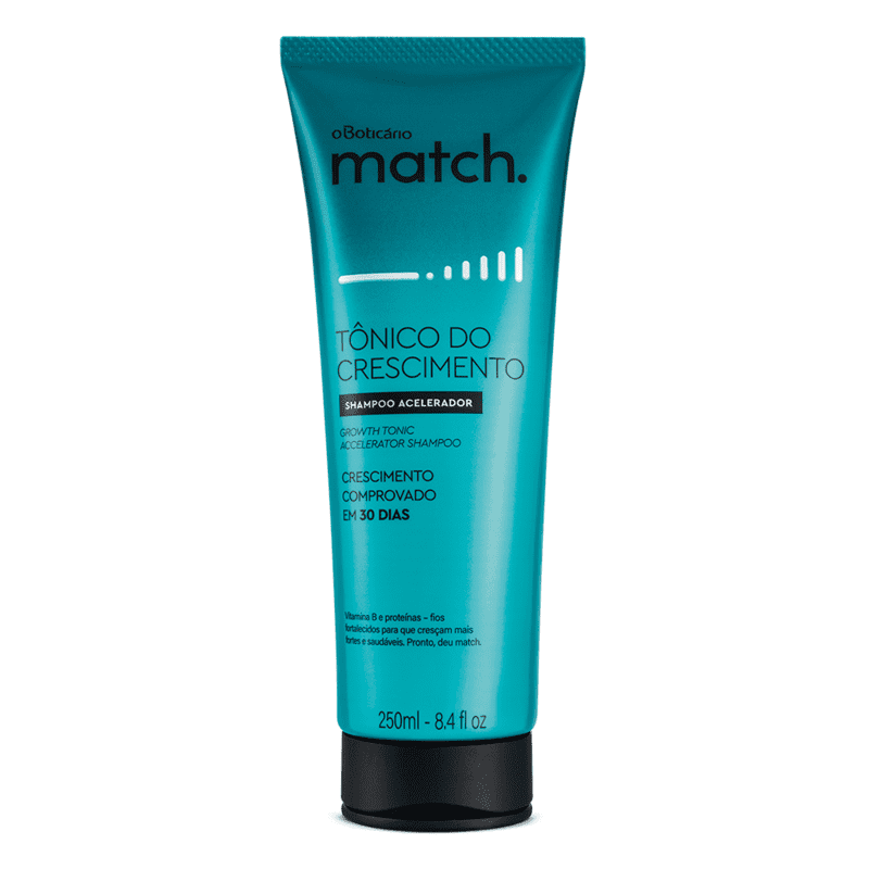 Shampoo Match Tônico do Crescimento, 250ml
