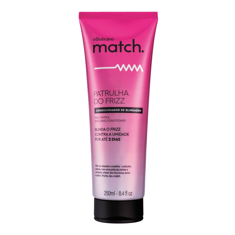 Condicionador Match Patrulha do Frizz, 250ml
