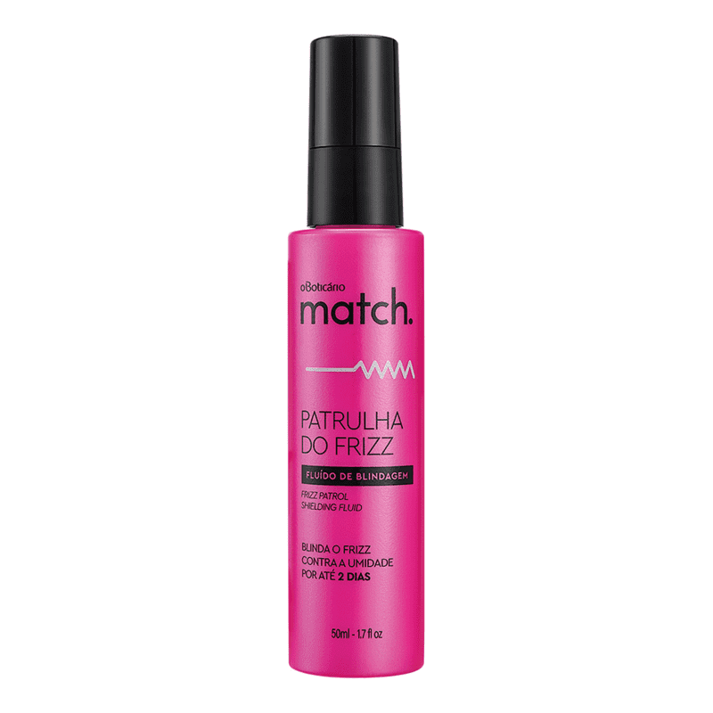 Sérum Capilar Match Patrulha do Frizz, 50ml