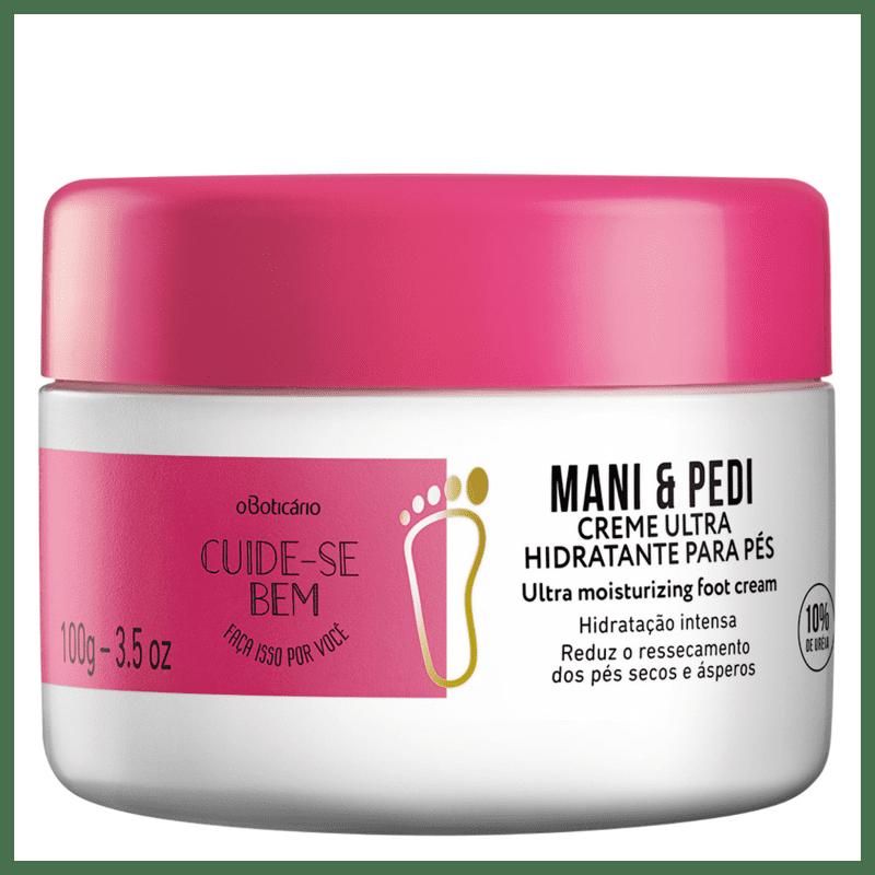 Creme Hidratante para Pés Cuide-se Bem Mani & Pedi 100g