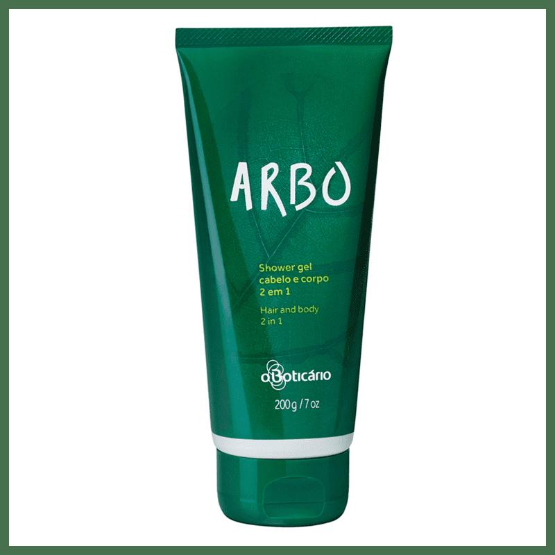 Shower Gel Cabelo e CorPó Arbo, 200g