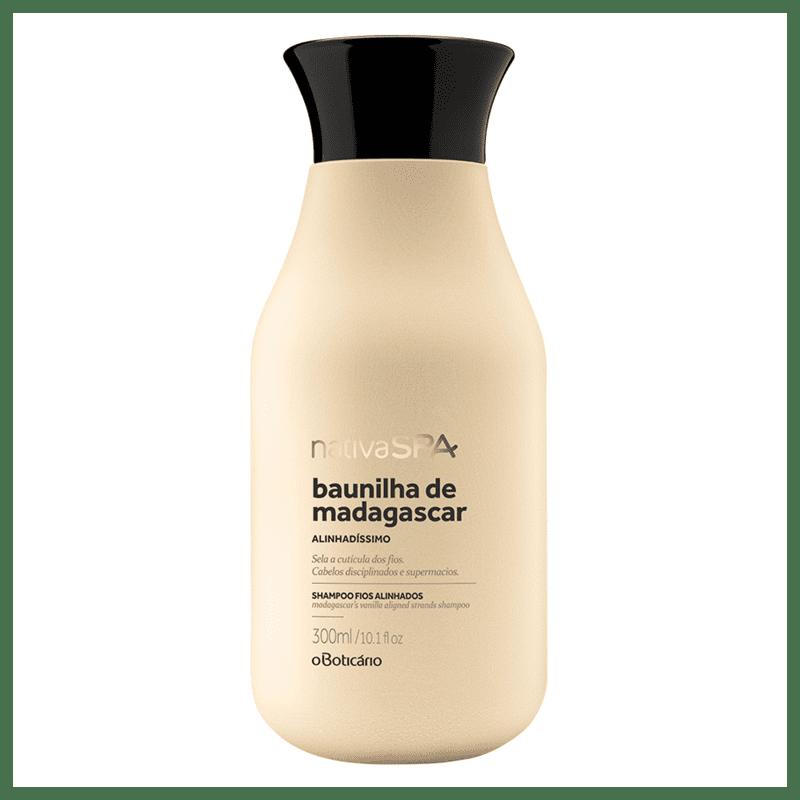 Shampoo para Cabelos Disciplinados Nativa SPA Baunilha de Madagascar 300ml