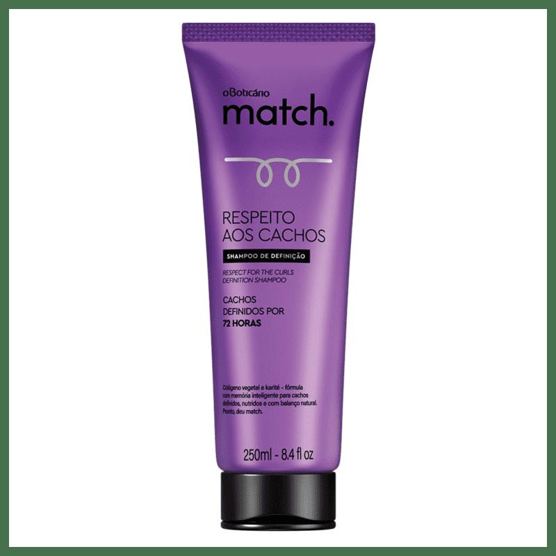 Shampoo Match Respeito aos Cachos, 250ml