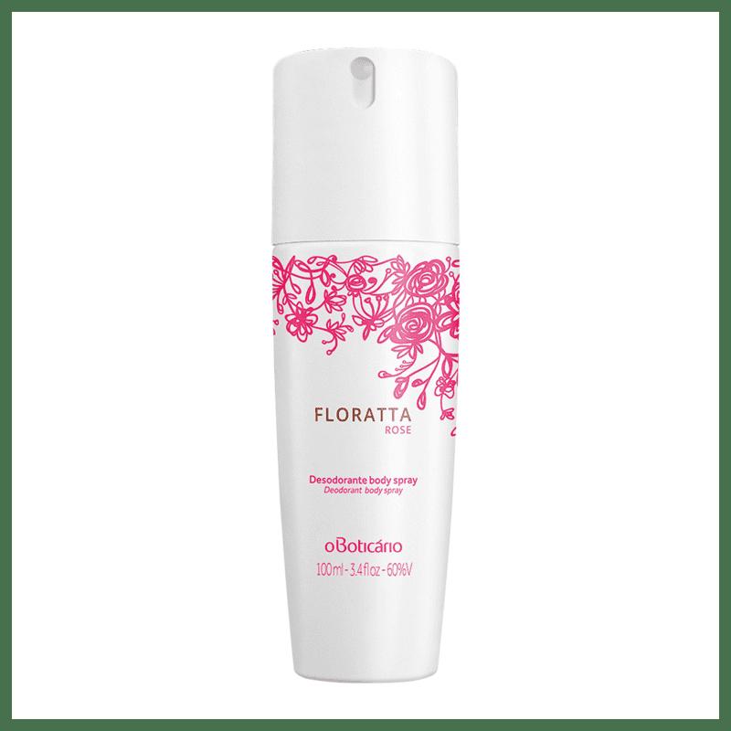 Desodorante Body Spray Floratta Rose, 100ml