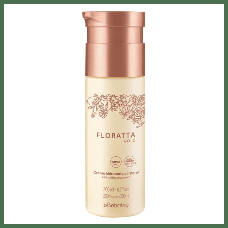 Creme Hidratante Desodorante Corporal Floratta Gold, 200ml