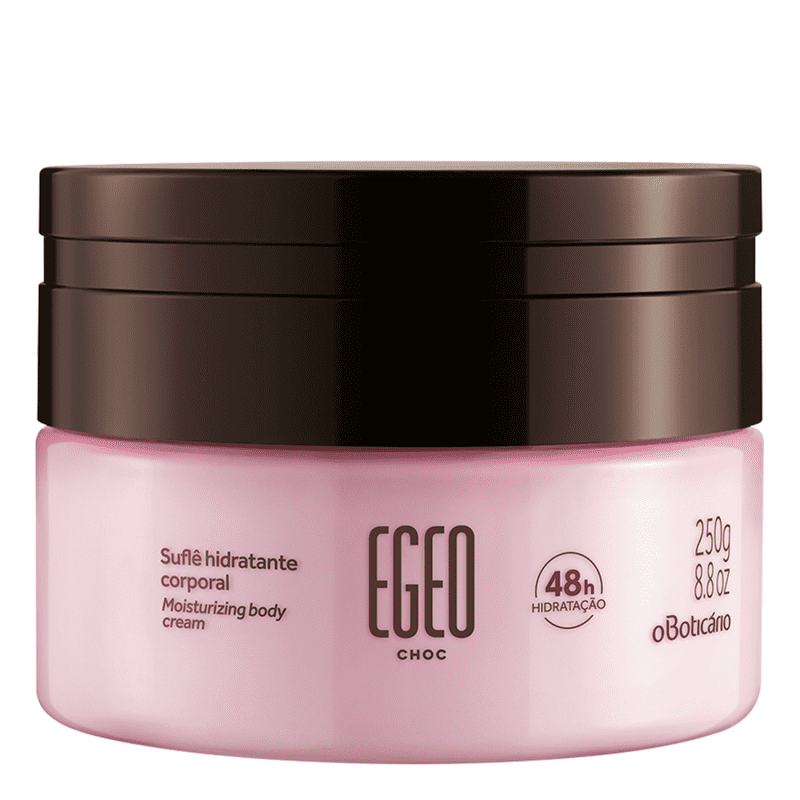 Suflê Hidratante Desodorante Corporal Egeo Choc, 250g