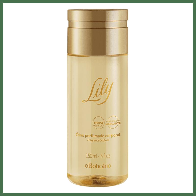 Óleo Perfumado Desodorante Corporal Lily, 150ml