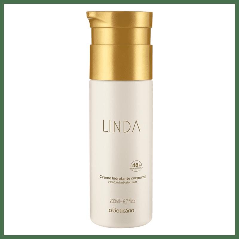 Creme Hidratante Desodorante Corporal Linda 200ml