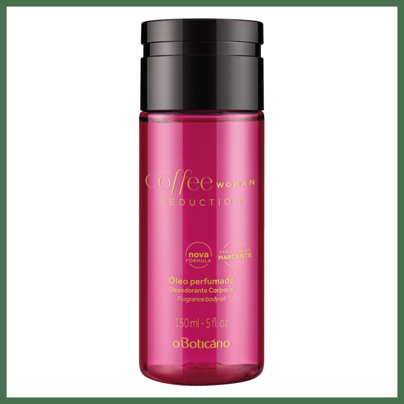 Óleo Perfumado Desodorante Corporal Coffee Woman Seduction, 150ml
