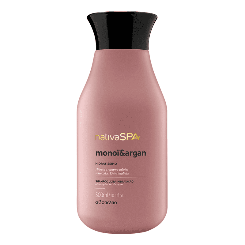 Shampoo Nativa SPA Monoï & Argan, 300ml