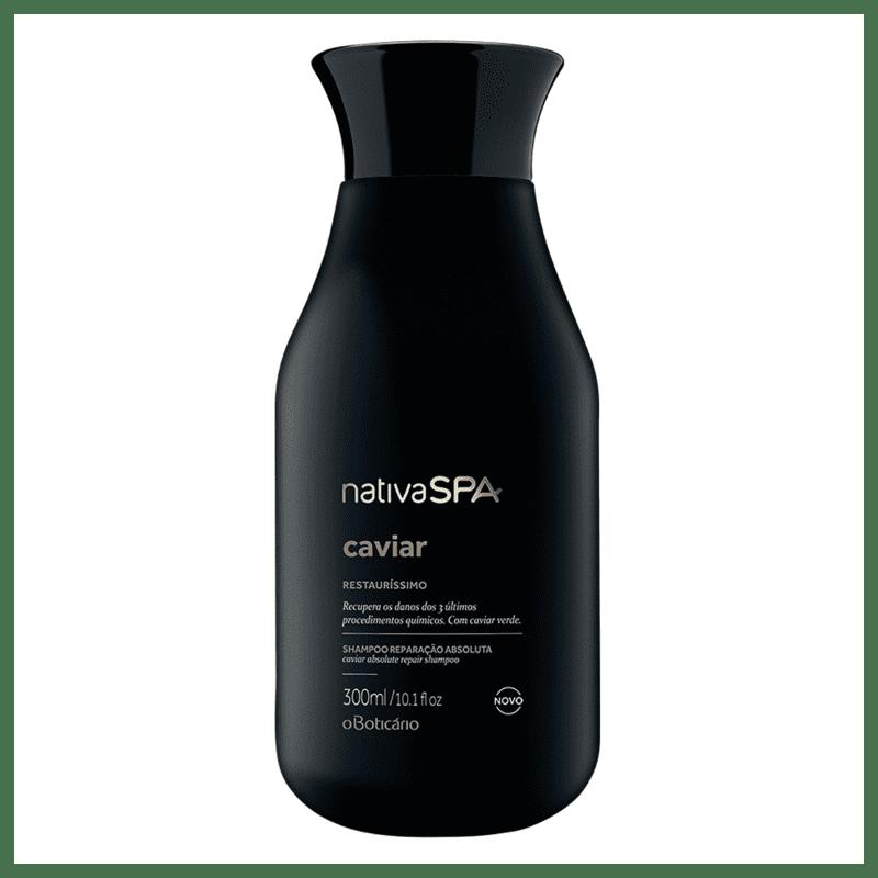 Shampoo para Cabelos Reparados Nativa SPA Caviar 300ml