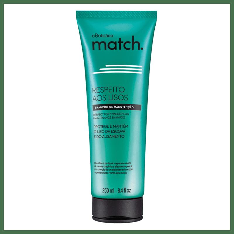 Shampoo Match Respeito aos Lisos, 250ml