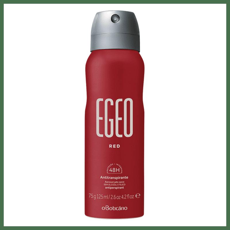 Desodorante Aerosol Antitranspirante Egeo Red, 75g