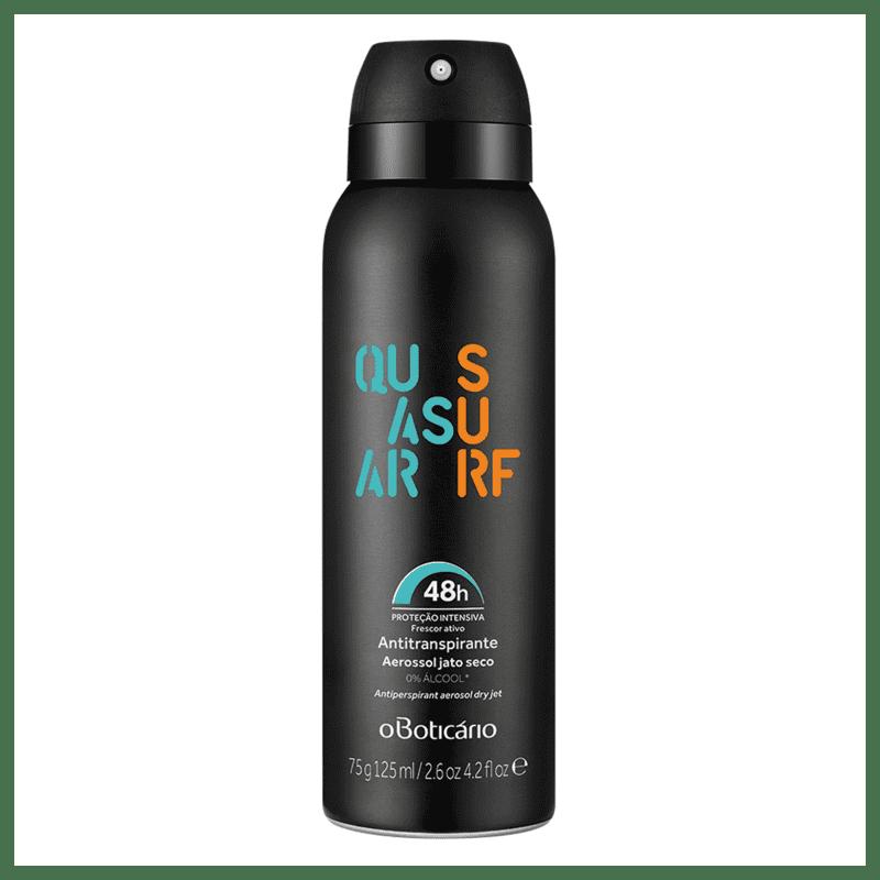 Desodorante Antitranspirante Aerosol Quasar Surf, 75g