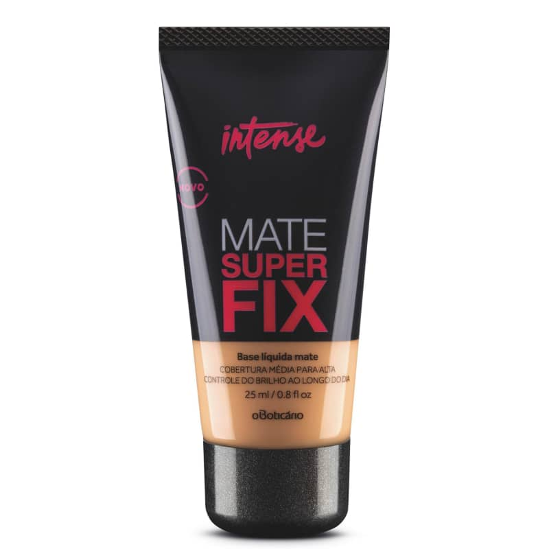 Base Líquida Mate Intense Superfix, 25ml Médio 2
