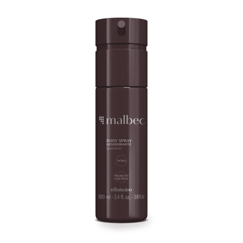 Desodorante Body Spray Malbec 100ml