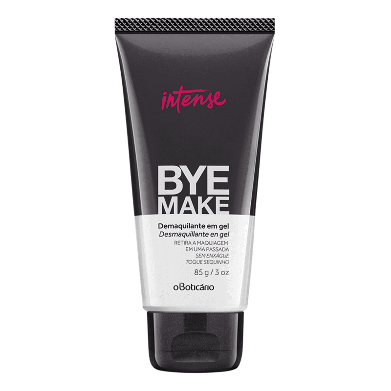 Demaquilante em Gel Bye Make Intense, 85g