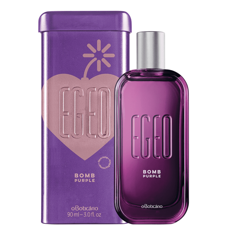 Egeo Bomb Purple Desodorante Colônia 90ml