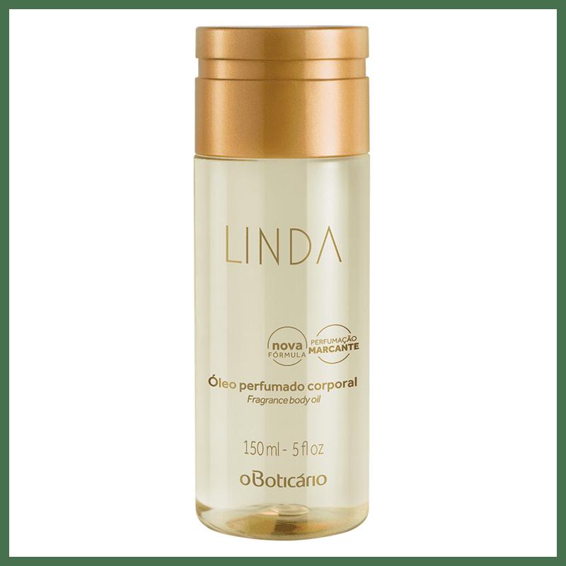 Óleo Perfumado Desodorante Corporal Linda 150ml
