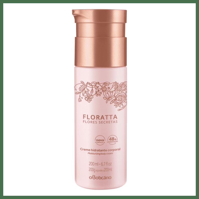 Creme Hidratante Desodorante Corporal Floratta Flores Secretas, 200ml