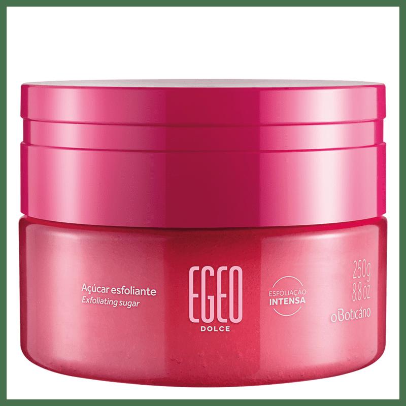 Óleo Desodorante Corporal Açúcar Esfoliante Egeo Dolce 250g