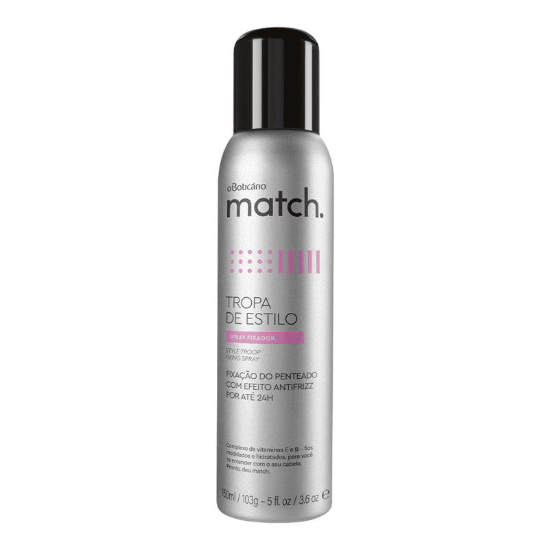 Spray Fixador Capilar Match, 150ml