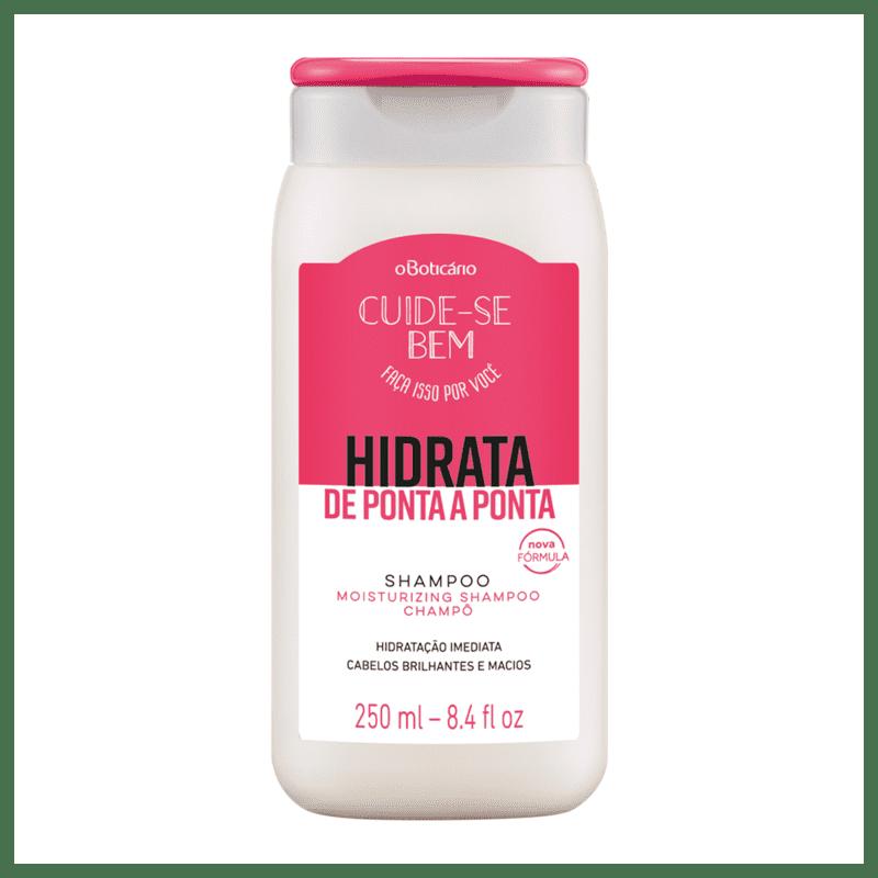 Shampoo Cuide-se Bem Hidrata de Ponta a Ponta 250ml