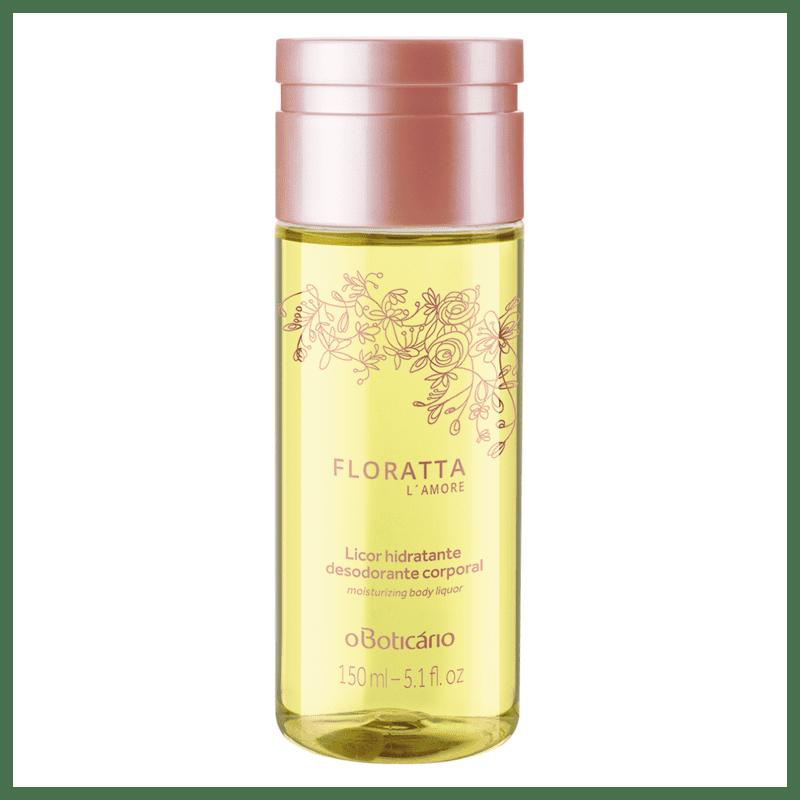 Licor Hidratante Desodorante Corporal Floratta L'Amore 150ml