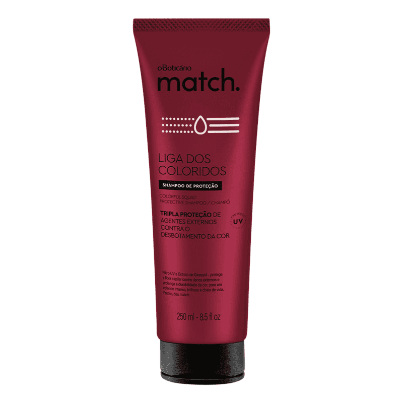Shampoo Match Liga dos Coloridos, 250ml