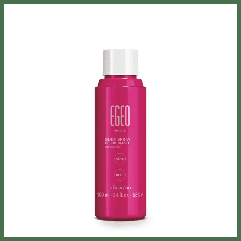 Refil Body Spray Desodorante Egeo, 100 ml