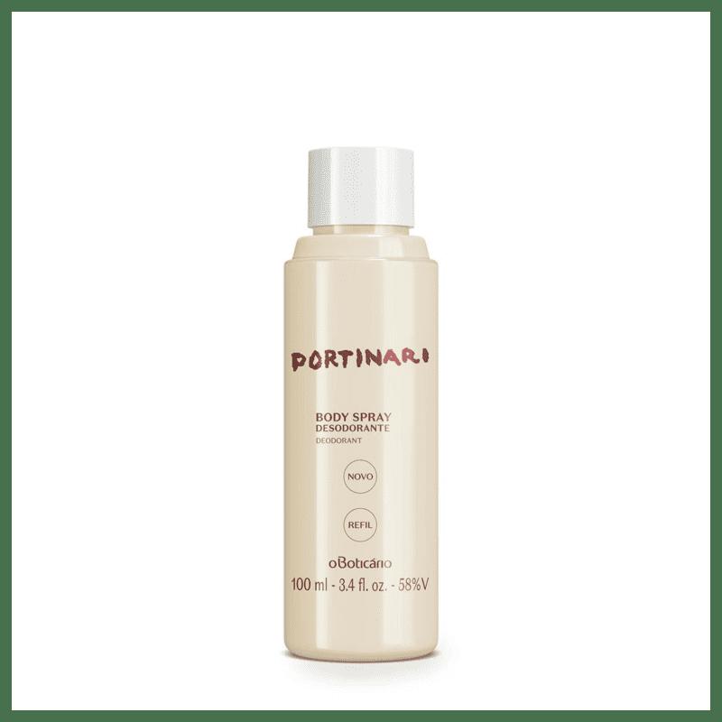 Refil Body Spray Desodorante Portinari, 100 ml