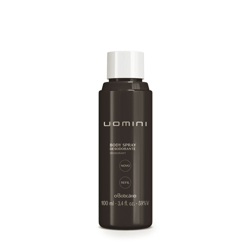 Refil Desodorante Body Spray Uomini, 100 ml