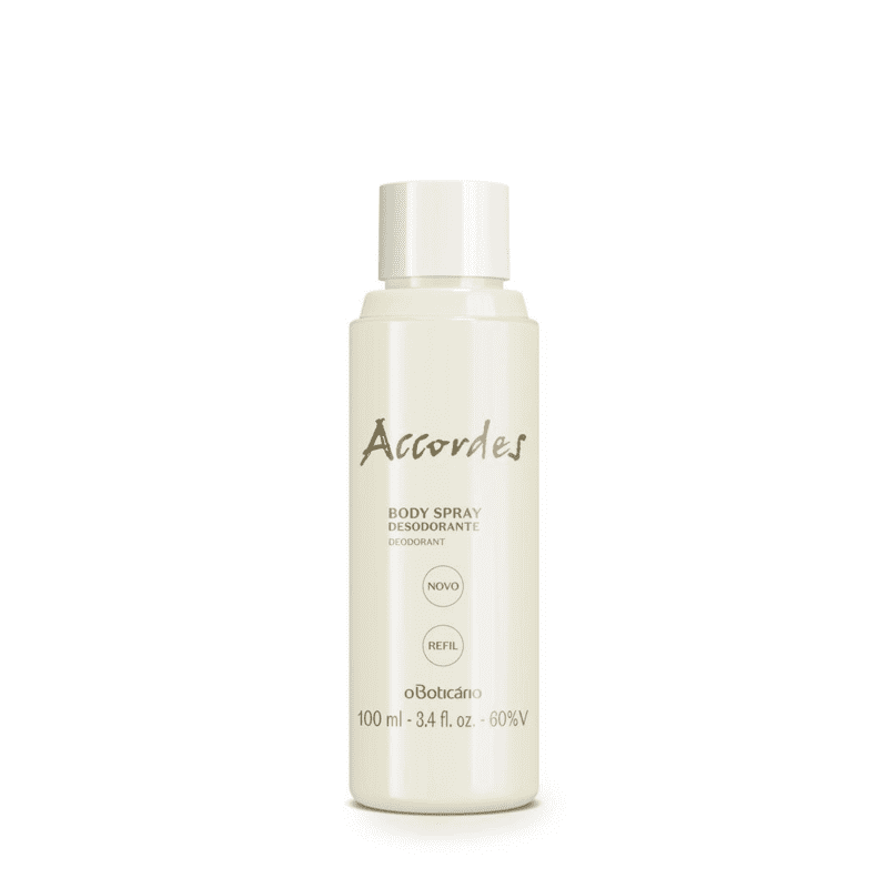 Refil Desodorante Body Spray Accordes, 100 ml