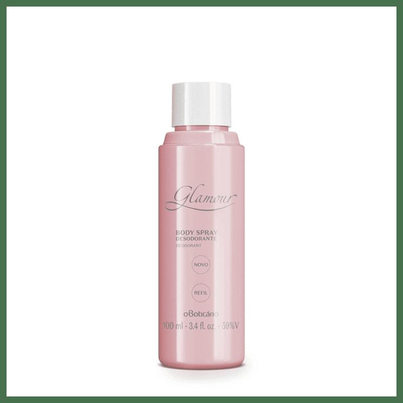 Refil Body Spray Desodorante Glamour 100ml