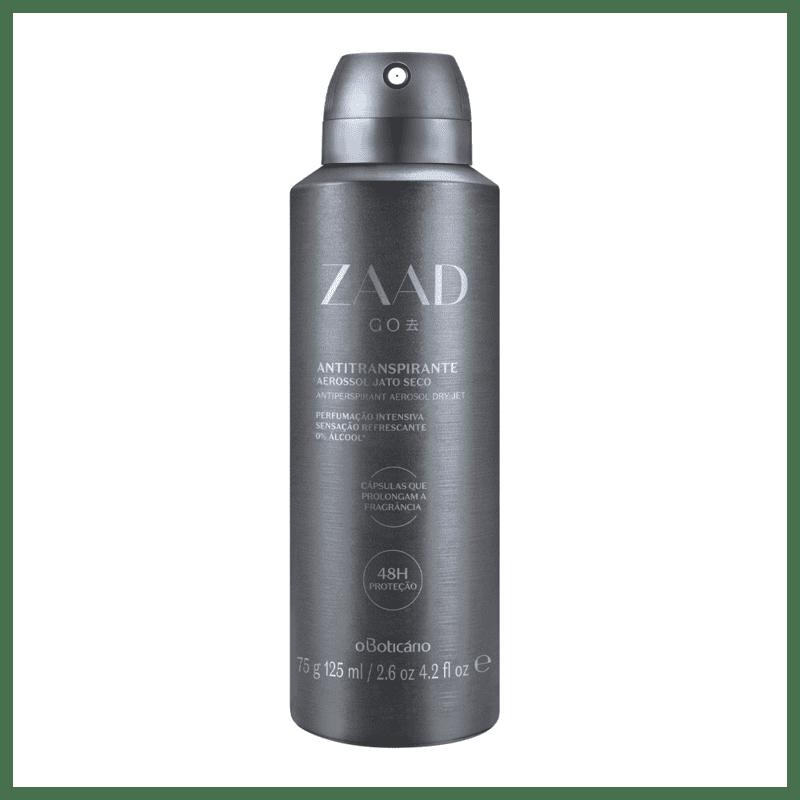 Desodorante Antitranspirante Aerossol Zaad Go 75g