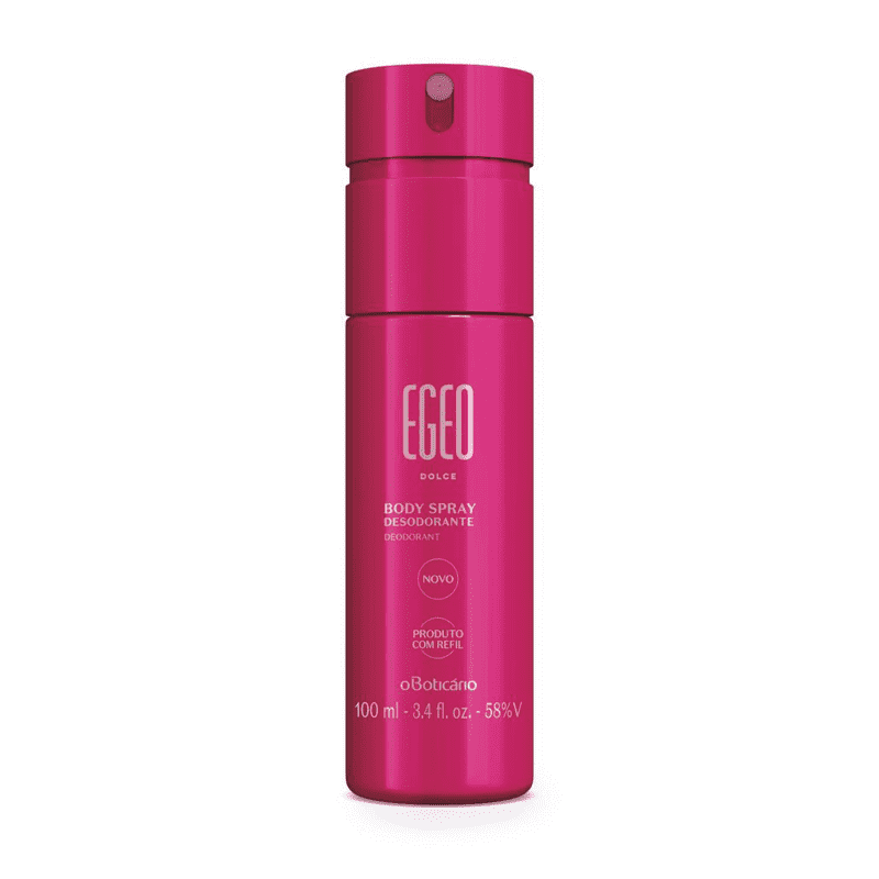 Desodorante Body Spray Egeo Dolce 100Ml Versao 8 Pack