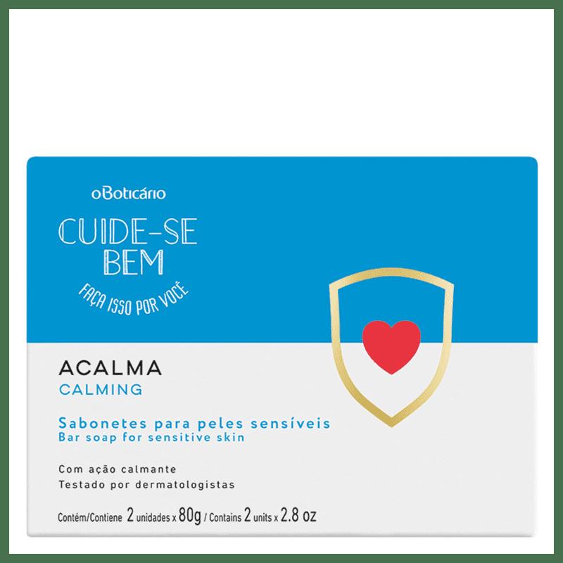 Sabonete Barra Cuide-Se Bem Acalma, 2x80g