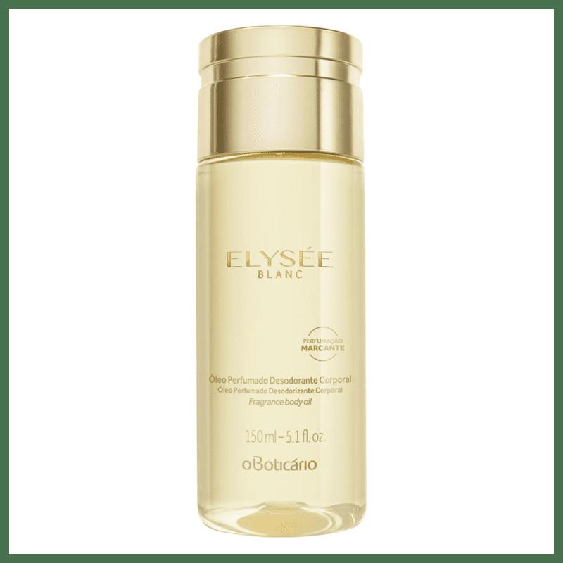 Óleo Desodorante Corporal Perfumado Elysée Blanc 150ml