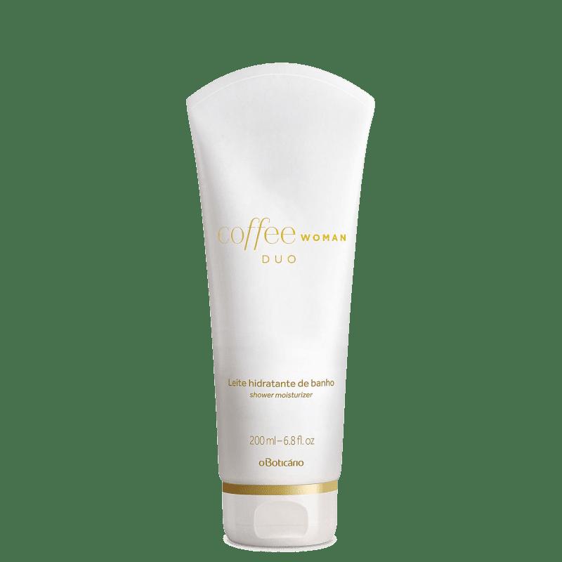 Hidratante de Banho Desodorante Leite Corporal Coffee Duo Woman 200ml
