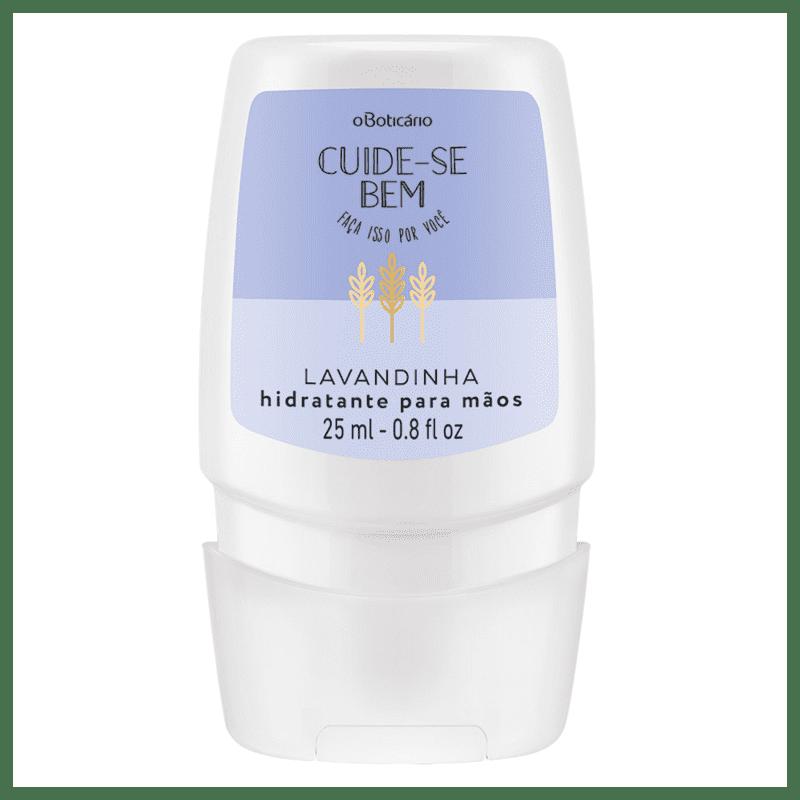 Creme Desodorante Mãos Cuide-se Bem Lavandinha, 25ml